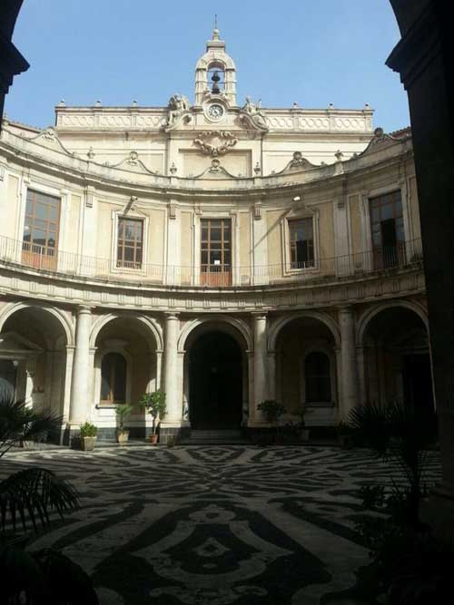 Cortile Convitto Cutelli